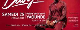 Dadju promet des exclus Live à tous ses fans du Cameroun