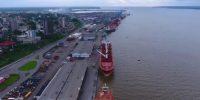 Le port de Douala-Bonabéri, dans la capitale économique du Cameroun, a accueilli 3306 navires en 2018